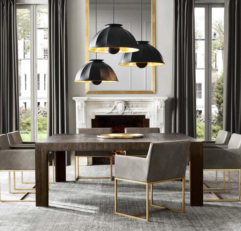 Luminaire au Design Moderne