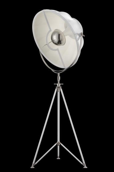 Lampadaire trépied Fortuny ® Studio 76 blanc