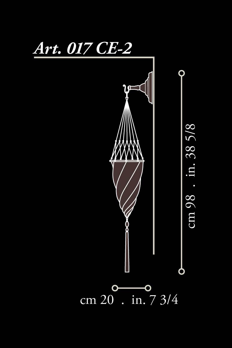 Applique Fortuny Cesendello dimensions