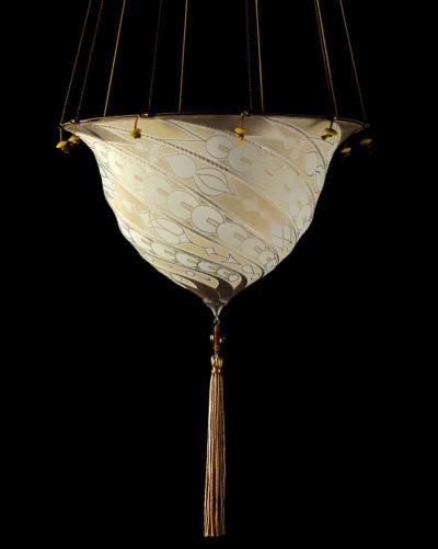 Lampe en soie Samarkanda Decò Fortuny
