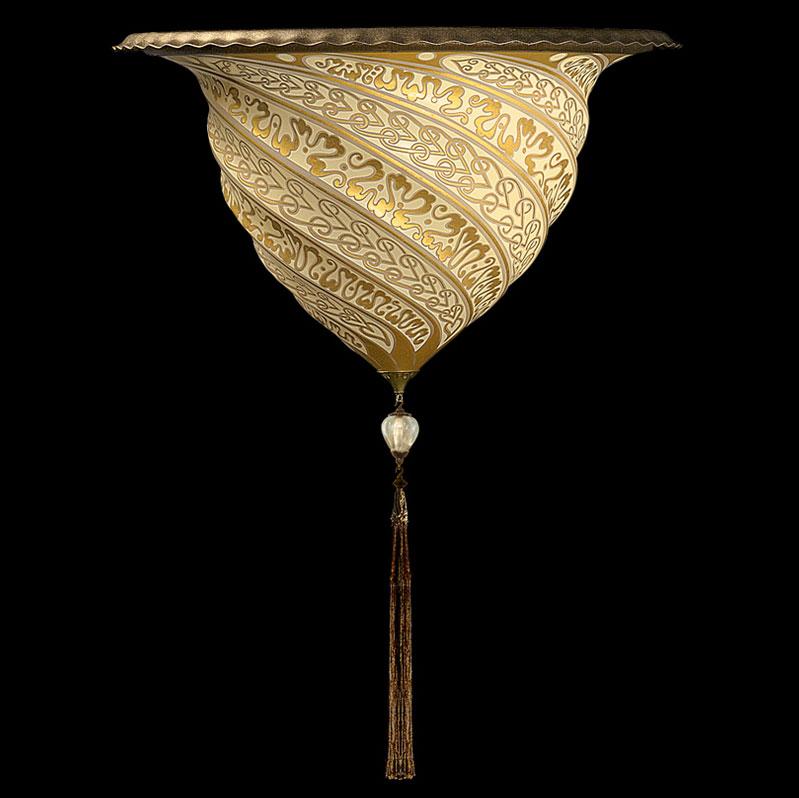 Applique en verre Samarkanda Fortuny décoration Or