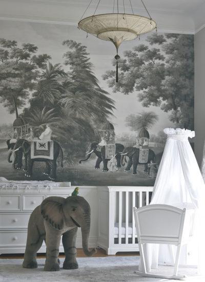 Lampe en soie Scheherazade à 2 niveaux Fortuny décoration Géométrique, chambre à coucher