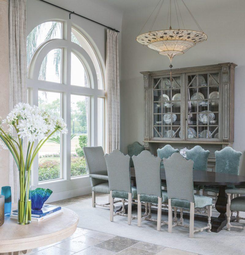 Lampe en soie à 3 niveaux Scheherazade Fortuny décoration Géométrique, intérieur 1