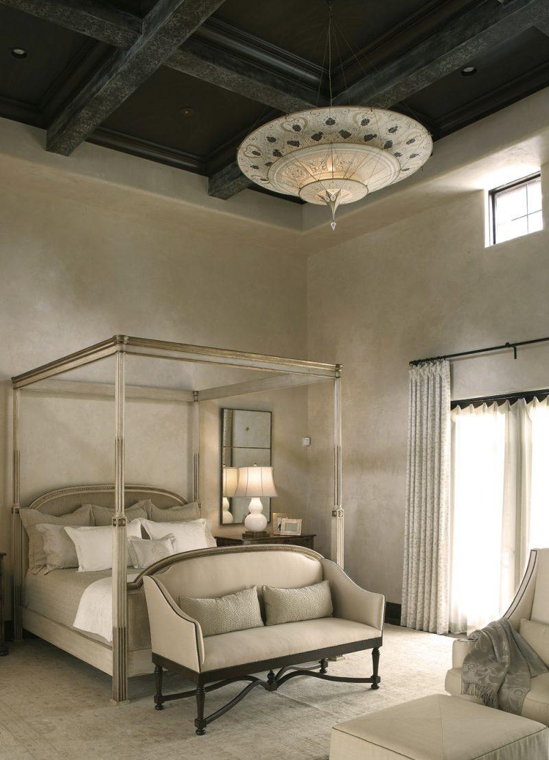 Lampe en soie à 3 niveaux Scheherazade Fortuny décoration Géométrique, intérieur 2