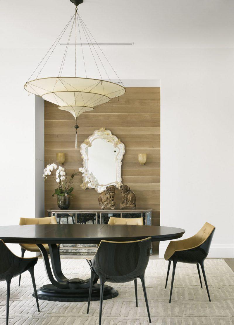 Lampe en soie unie à 3 niveaux Scheherazade Fortuny Plain, intérieur