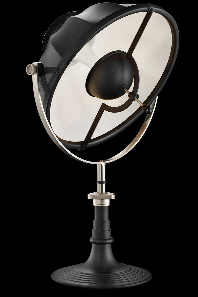 Lampe de table Fortuny Armilla 41 Noire et Blanc