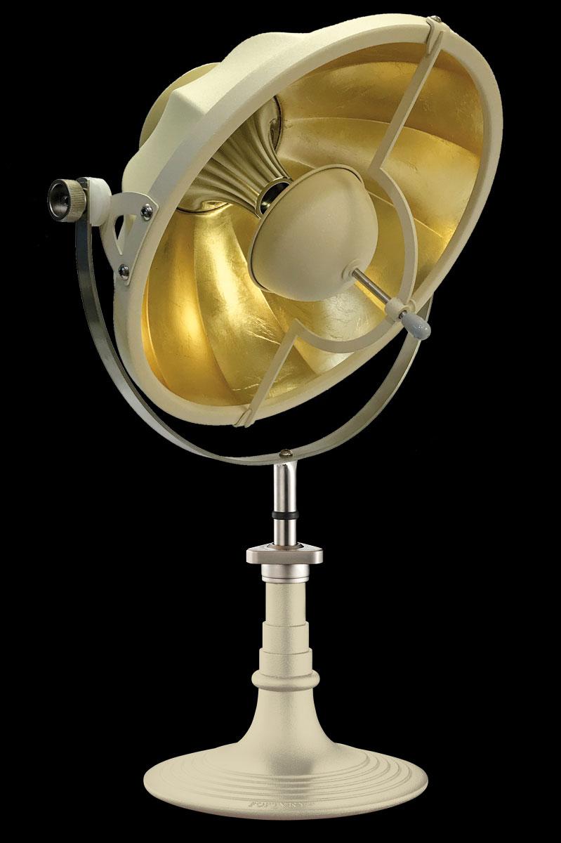 Lampe à poser Fortuny Armilla 41 Quartz et Feuille d'Or