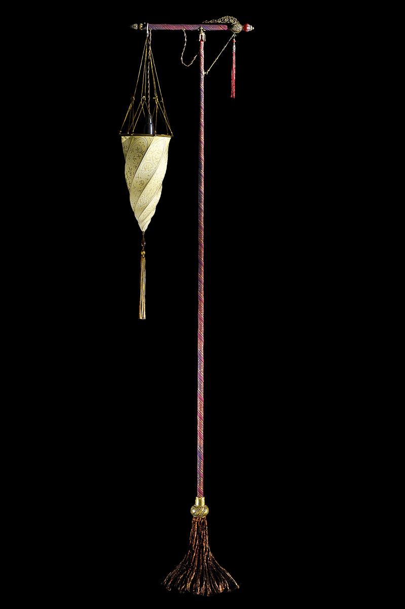 Cesendello lampadaire en soie