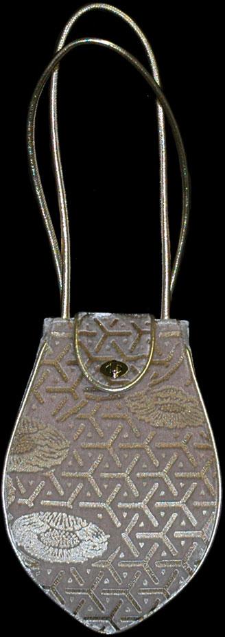 Fortuny Moretta 907 printed velvet bag