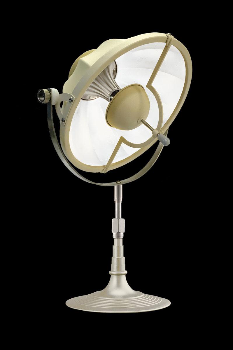 Lampe de table Fortuny Armilla 32 Quartz et Blanc