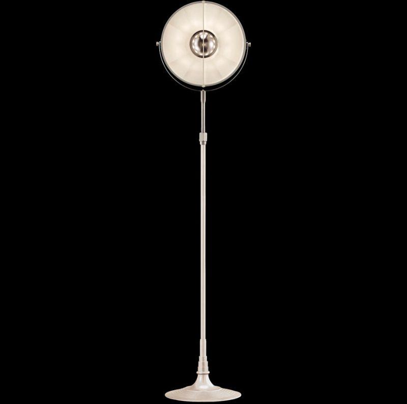 Studio 1907 Fortuny lampadaire Atelier 32 blanc