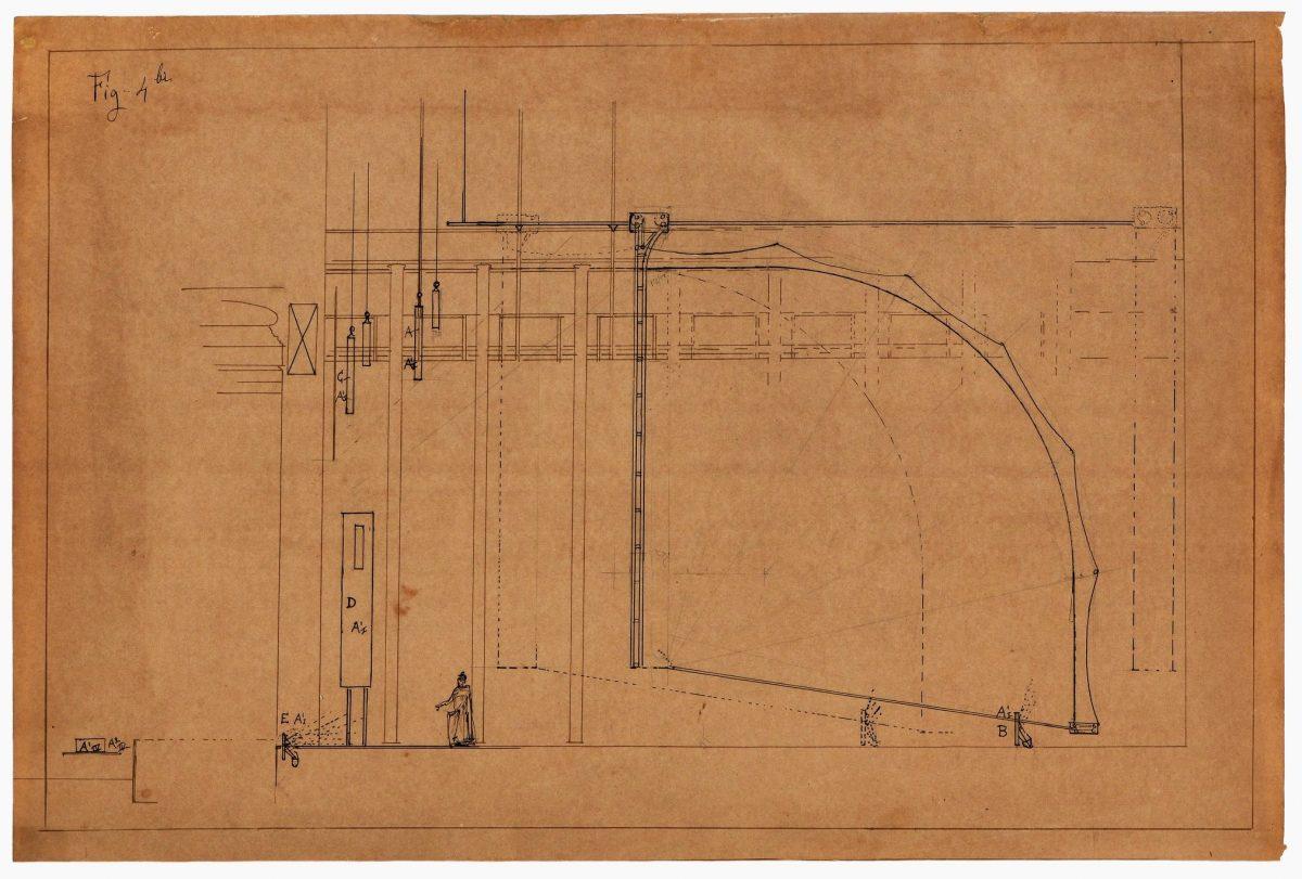 La conception du Dôme Fortuny