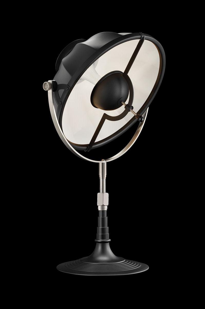 Lampe de table Fortuny Armilla 32 Noire et Blanc