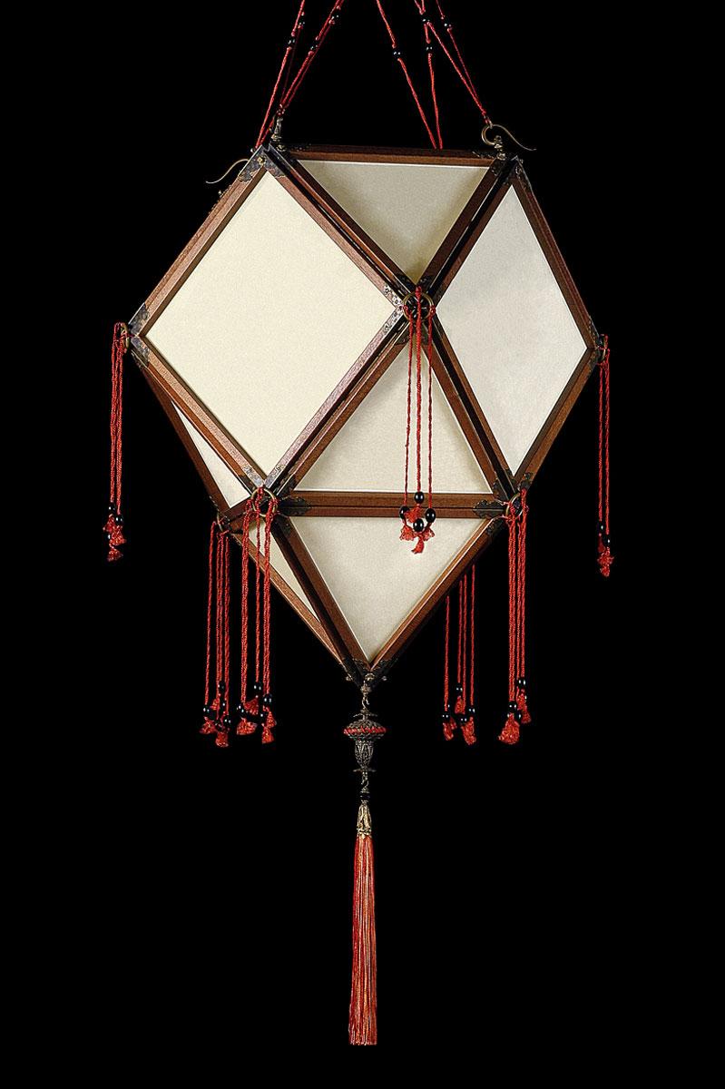 Lampe en soie unie Fortuny Concubine Imperiale