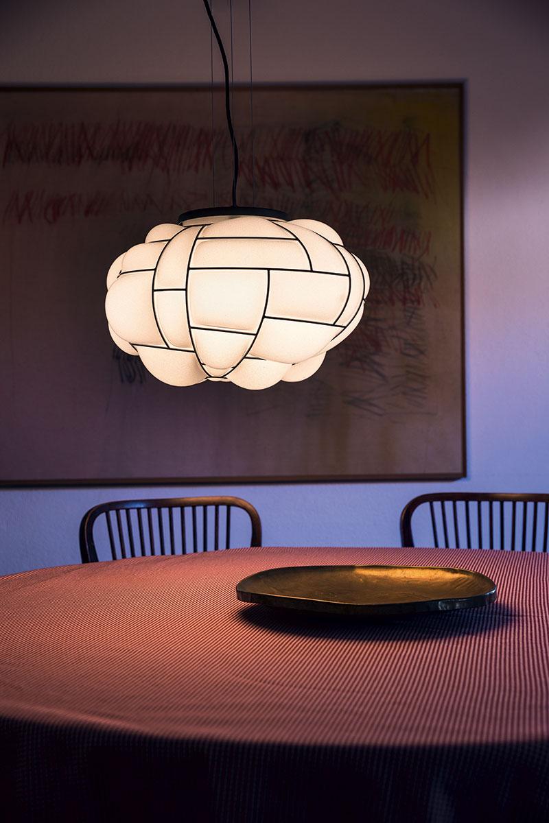 Lampe suspendue Pallucco Egg blanche