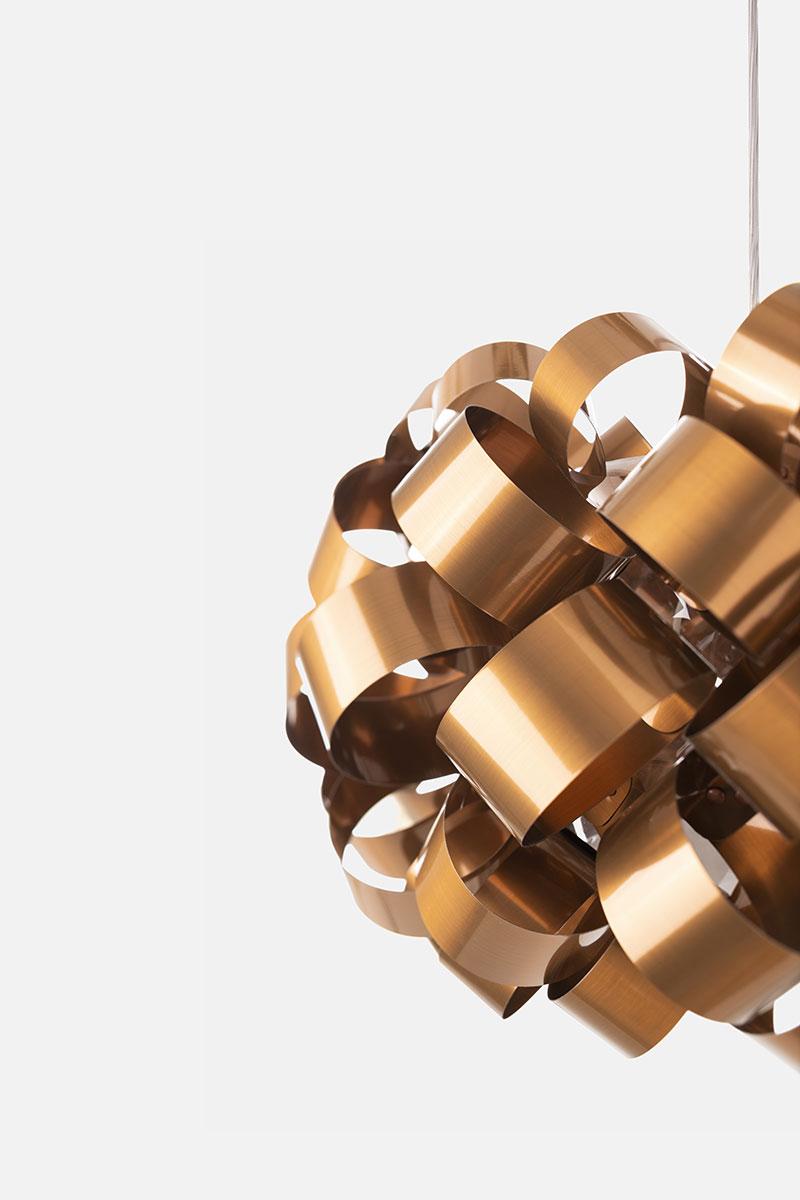 Pallucco Ring Sphere 500 cuivre