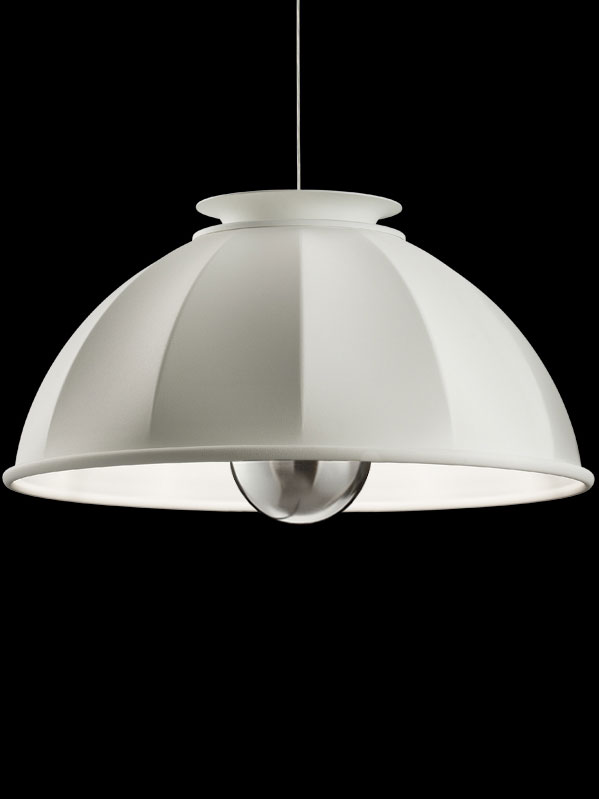 Suspension Fortuny Cupola 76 blanche