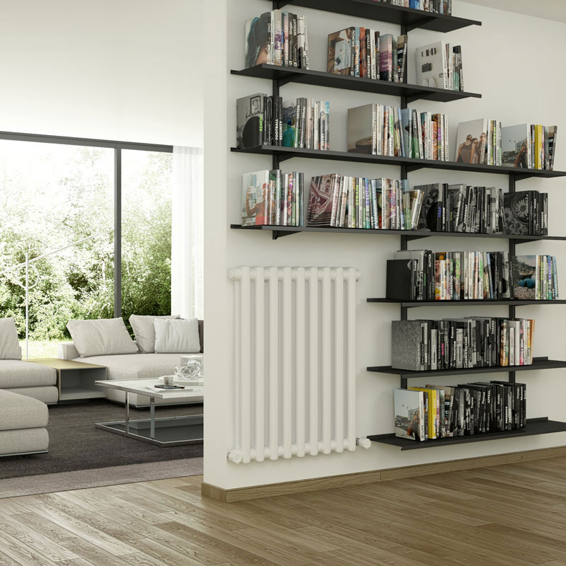 Pallucco Continua customizable modular bookcase squared