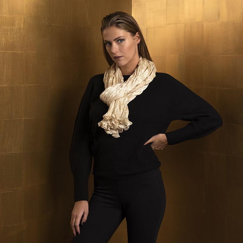 Fortuny silk scarves